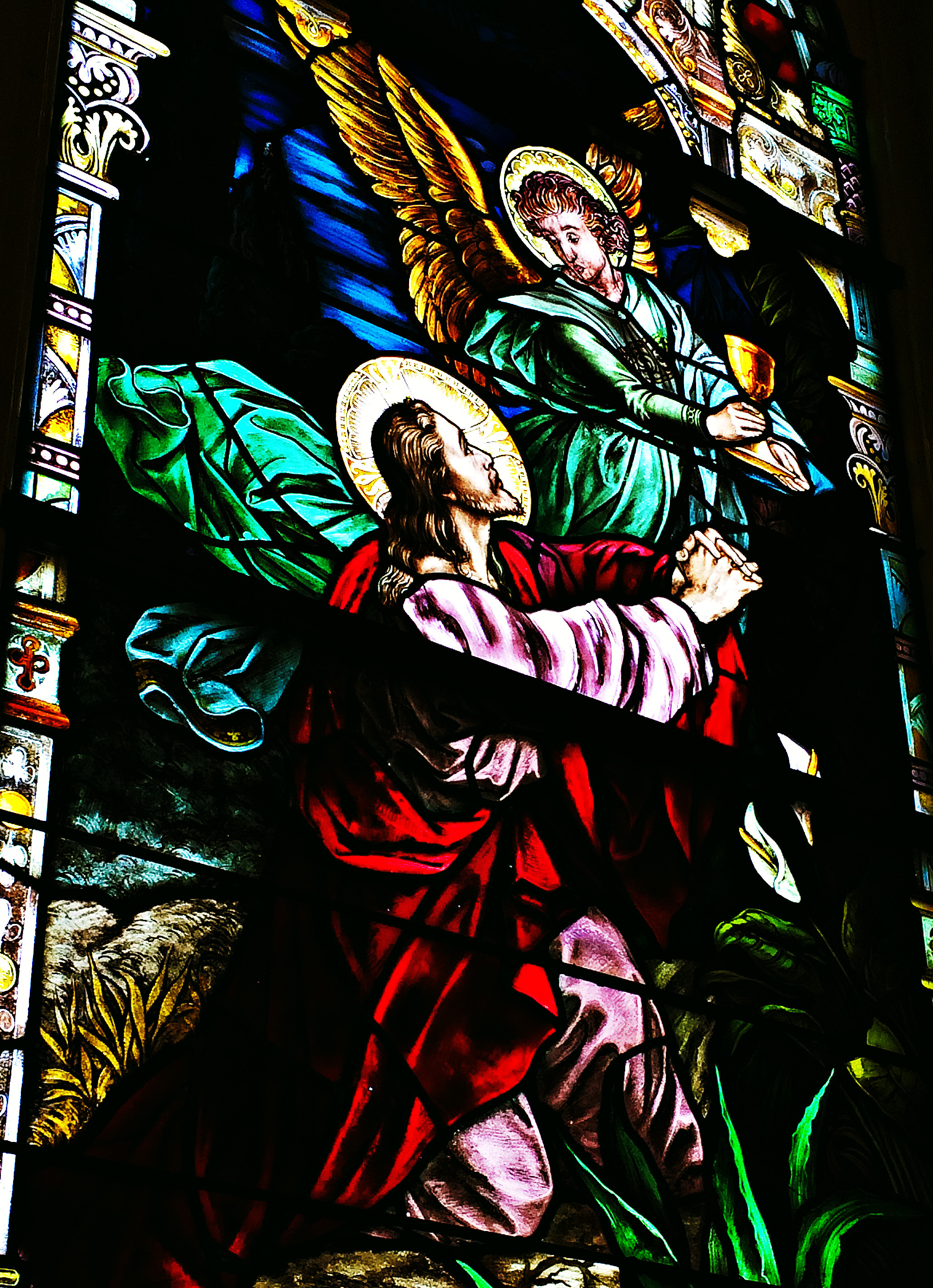 Stained Glass St. Patricks Pm