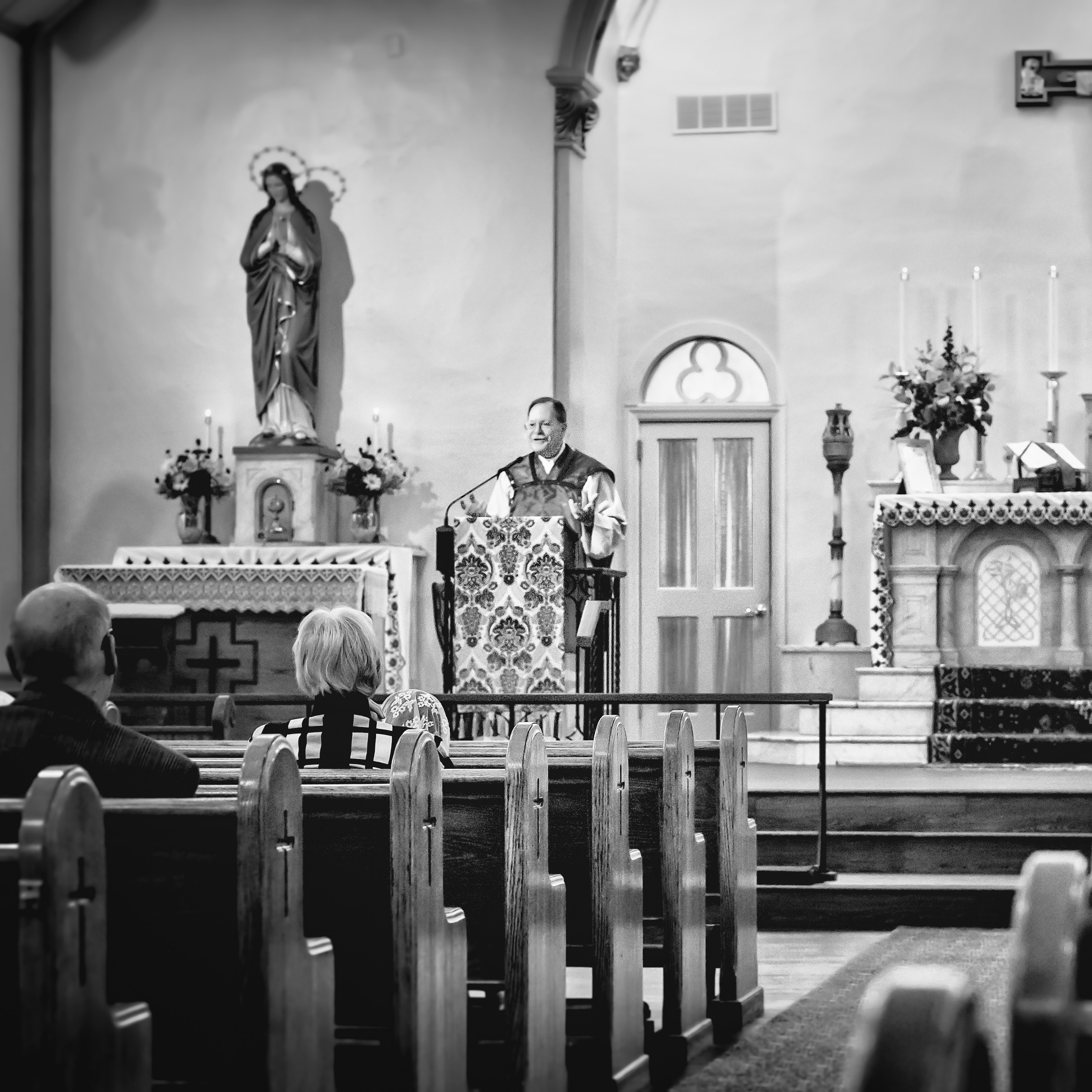 Latinmass St.patricks Fr. Klein Sermon Smile Bw 2 1