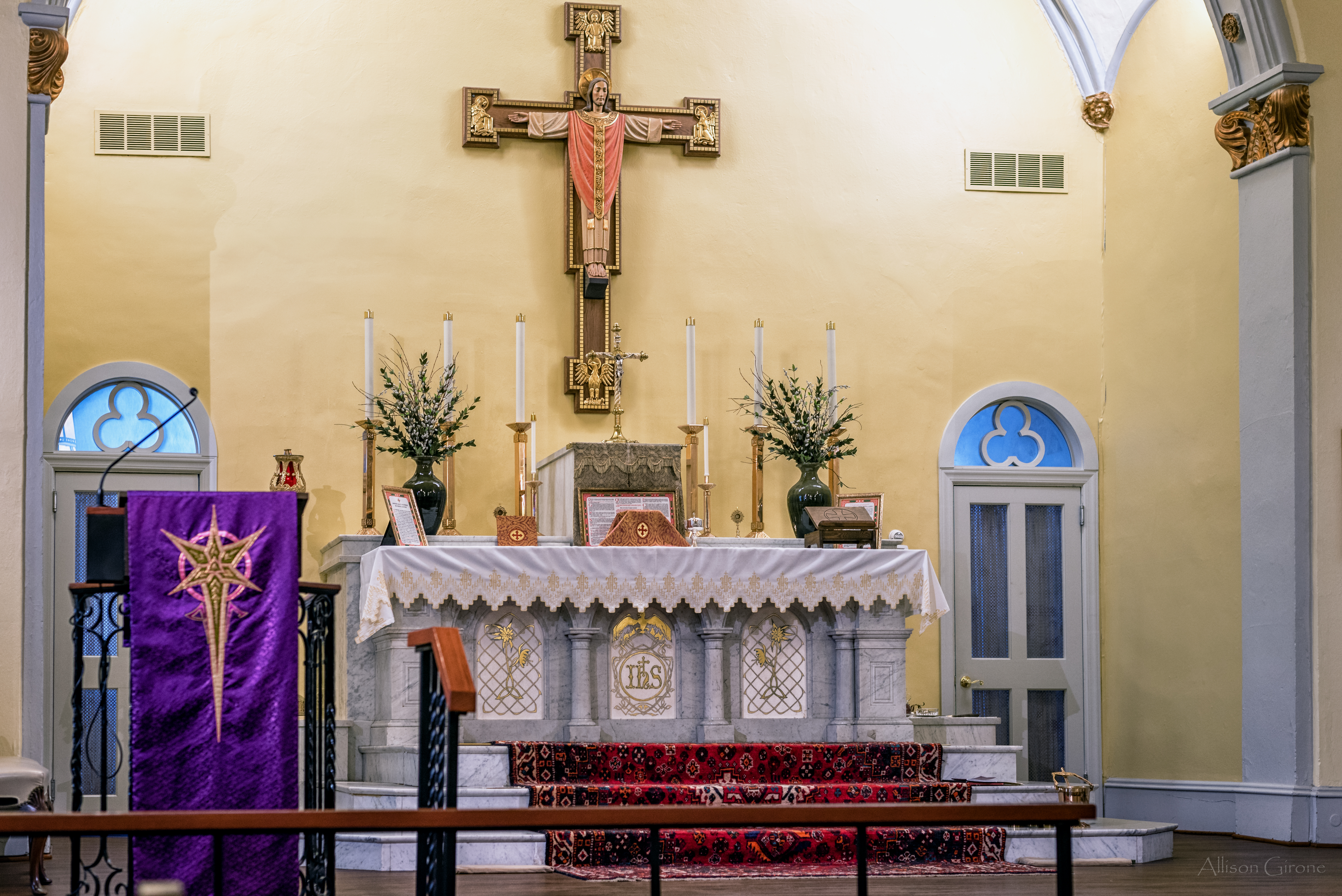 Latinmass St. Patrick Laetare Sunday Lent 1 Of 1